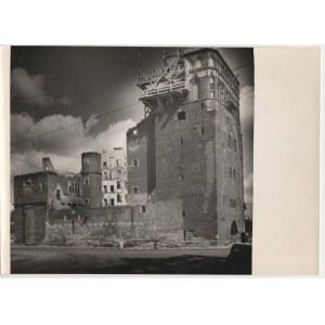 GDAŃSK. Wieża Więzienna, ot. K. Lelewicz, Gdańsk-Wrzeszcz 1951, na ...