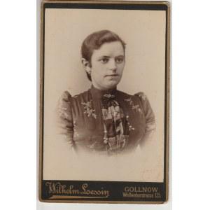 GOLENIÓW. Fotografia kobiety, wykon. Photographisches Atelier Wilhelm ...