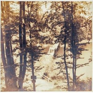 KOSZALIN. Most na rzece (Dzierżęcince?), fot. Kurt Porkitt, przed 19 ...