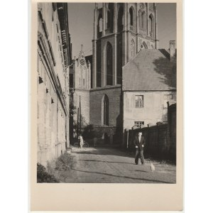 SZCZECIN. Widok na Kościół Mariacki, fot. Włodzimierza Wojtkiewicz ...