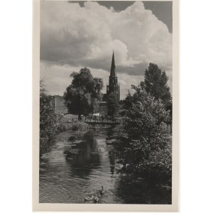 SZCZECIN. Widok na kościół od strony osady rybackiej, fot. Włodzim ...