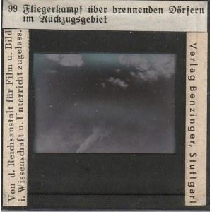 BERLIN. Szklany diapozytyw przedstawiający zdjęcie nieba, wykon. Ver ...