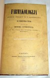 ŁUCZKIEWICZ- FARMAKOLOGIJA wyd. 1860