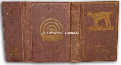 KALENDARZ MYŚLIWSKI 1938