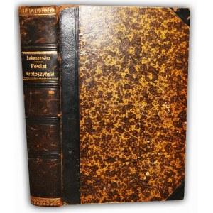 ŁUKASZEWICZ-  KRÓTKI HISTORYCZNO-STATYSTYCZNY OPIS MIAST I WSI W DZISIEJSZYM POWIECIE KROTOSZYŃSKIM t.1-2