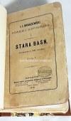 KRASZEWSKI - STARA BAŚŃ wyd.1 z 1876 oprawa