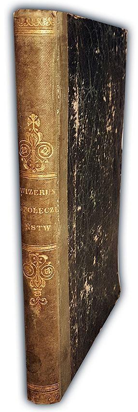 BOGUCKI- WIZERUNKI SPOŁECZEŃSTWA WARSZAWSKIEGO wyd. 1844 warsaviana