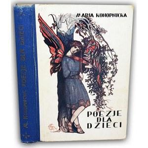 KONOPNICKA- POEZJE DLA DZIECI il.Gawiński 1934r.