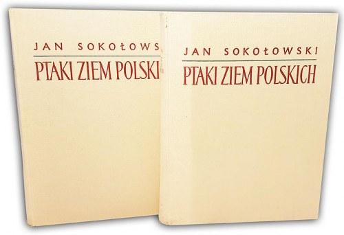 SOKOŁOWSKI- PTAKI ZIEM POLSKICH t.1-2 (komplet w 2 wol.)