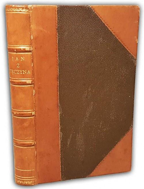NIEMCEWICZ- JAN Z TĘCZYNA wyd. 1878 oprawa