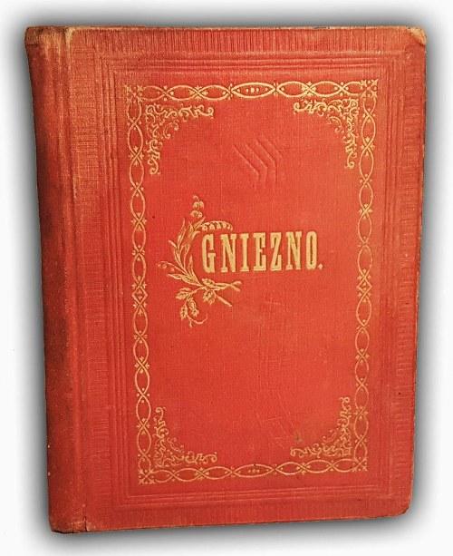 GDECZYK- PRZEWODNIK HISTORYCZNY PO GNIEŹNIE I JEGO KOŚCIOŁACH wyd.1891 autograf