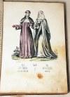 WIETZ, BOHMANN- RYS HISTORYCZNY ZGROMADZEŃ ZAKONNYCH t.2-gi ŻEŃSKIE wyd.1848 barwne litografie