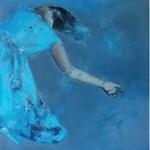 Kaja Solecka, Niebieska sukienka, 2018