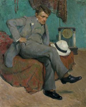 Błocki Włodzimierz, PORTRET PANA D., 1910