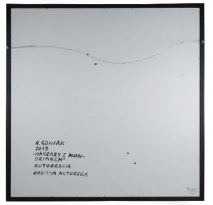 Radosław SOWIAK (ur. 1950), Warcaby z Mondrianem, 2018
