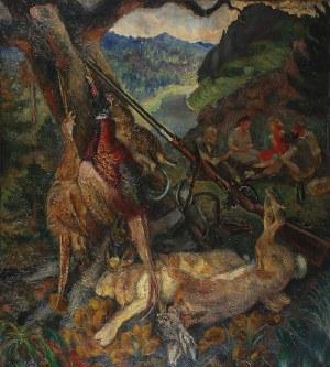 Fryderyk PAUTSCH (1877-1950), Po polowaniu - Martwa natura myśliwska