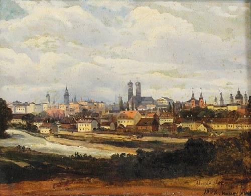 Aleksander ŚWIESZEWSKI (1839-1895), Panorama Monachium, 1864