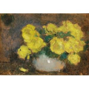 Alfons KARPIŃSKI (1875-1961), Róże Marechal Niel