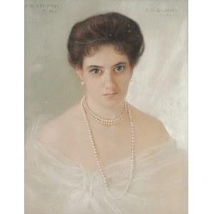 Carlo DI GIUSEPPE (1886-1910), Portret kobiet, 1904