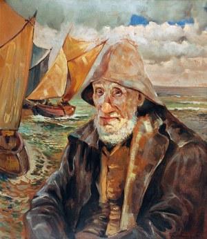 Zygmunt NIRNSTEIN (1894-1985), Rybak, 1926