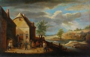 Malarz nieokreślony, zachodnioeuropejski, XVIII w., Chłopskie zabawy