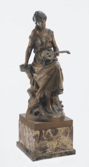 Auguste MOREAU (1834-1917), Dziewczyna z mandoliną