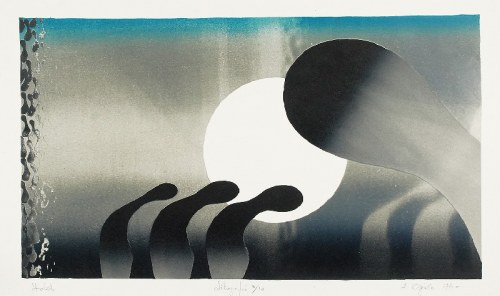 Henryk OPAŁKA (ur. 1929), Hold, 1974