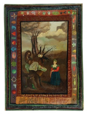 Henryk WANIEK (ur. 1942), Self portrait of the dead person