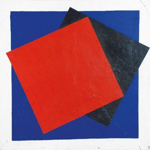 Jacek MALICKI (ur. 1946), Dwa kwadraty (dwoje), 1984