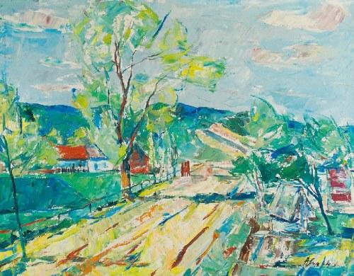 Alojzy SIWECKI (1912-1988), Pejzaż z drogą