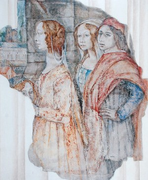 Ryszard PAPROCKI [Ryho] (ur. 1963), Fresco, 2002/2004