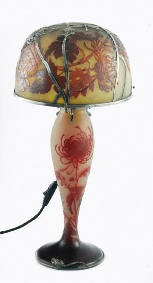 Emil GALLÉ (1846-1904), Lampa buduarowa, elektryczna