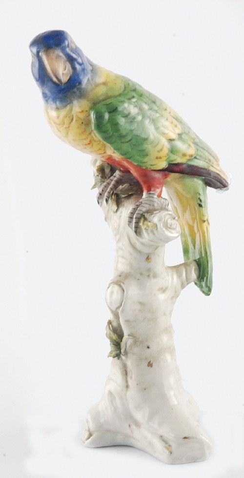 Ludwigsburg, Ludwigsburger Porzellanmanufaktur GmbH (Wirtembergia), Papuga na konarze
