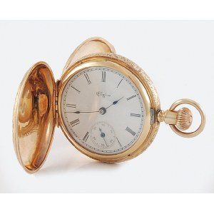 ELGIN NATIONAL WATCH COMPANY (firma czynna 1864-1968), Zegarek kieszonkowy - pektoralik damski