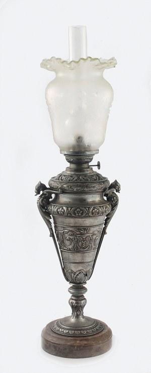 Fabryka Lamp Naftowych Auguste GAUDARD (później A. & P. Gaudard Fils) (zał. 1869), Lampa naftowa w formie amfory
