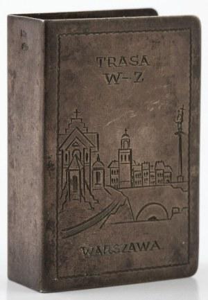 ETUI NA ZAPAŁKI Z TRASA W-Z, Polska, Warszawa, Jan Panasiuk, ok. 1950