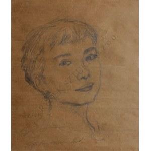 L.Lewandowski(XX w.), Portret młodej kobiety
