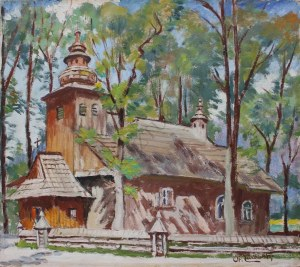 Stanisław Żurawski (1889-1976), Kościółek w Zakopanem [na Pęksowym Brzyzku]