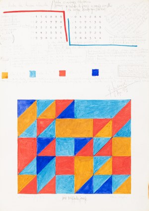 Jerzy Grabowski (1933-2004), Rysunek 5/IV, 1986 r.