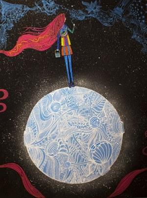 Luiza Poreda, Girl on the moon, 2018