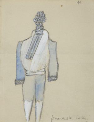 Jarema Maria , FRANCUSKI LOKAJ, ok. 1955-57