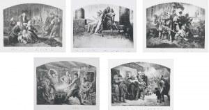Artur GROTTGER (1837-1867) - według, Polonia - 9 heliograwiur