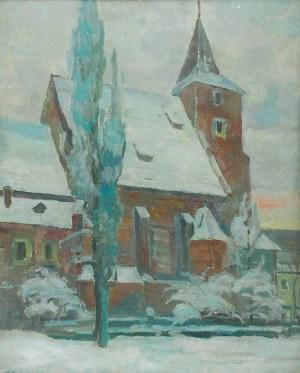 Zdzisław PRZEBINDOWSKI (1902-1986), Kościół Św. Krzyża w Krakowie, 1957