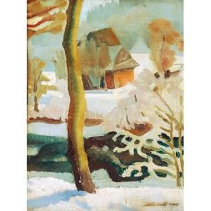 Marian NIŻYŃSKI (1910-1943), Pejzaż zimowy, 1929