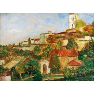 Marek SZWARC (1892-1958), Pejzaż z Lectoure