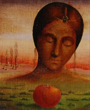 Henryk WANIEK (ur. 1942), Cytat portretowy. Giorgione, 1972