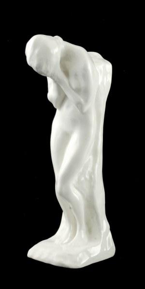Konstanty Laszczka ( 1856 - 1956), Akt kobiety z twarzą ukrytą w dłoniach (Zrozpaczona)