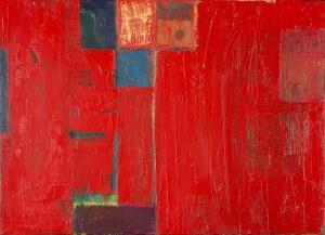 Arkadiusz RAFFLEWSKI, Krajobraz czerwony z obiektami