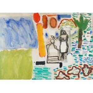 Mariusz WOSZCZYŃSKI (ur. 1965), Fryzjer w naturze, 1998