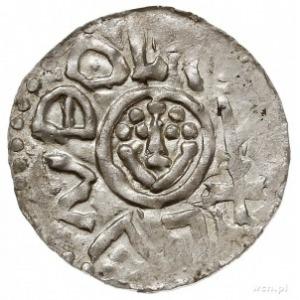 """jako książę śląski, denar typu """"ioannes"""" przed 1107, me..."""